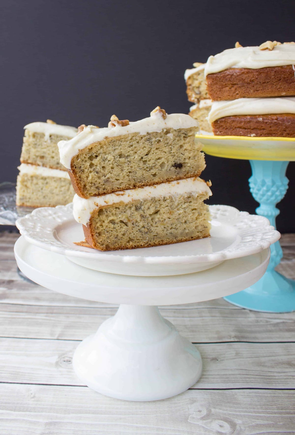 Cake With Cream Cheese Frosting : Banana Cake with Brown Sugar Cream Cheese Frosting - Sugar ...