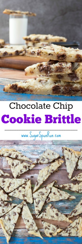 Easy Chocolate Chip Cookie Brittle SugarSpunRun