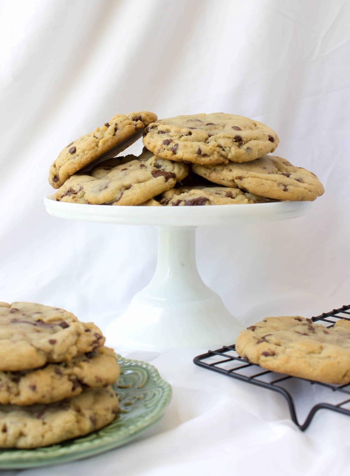 Browned Butter & Bourbon Cookies - Sugar Spun Run