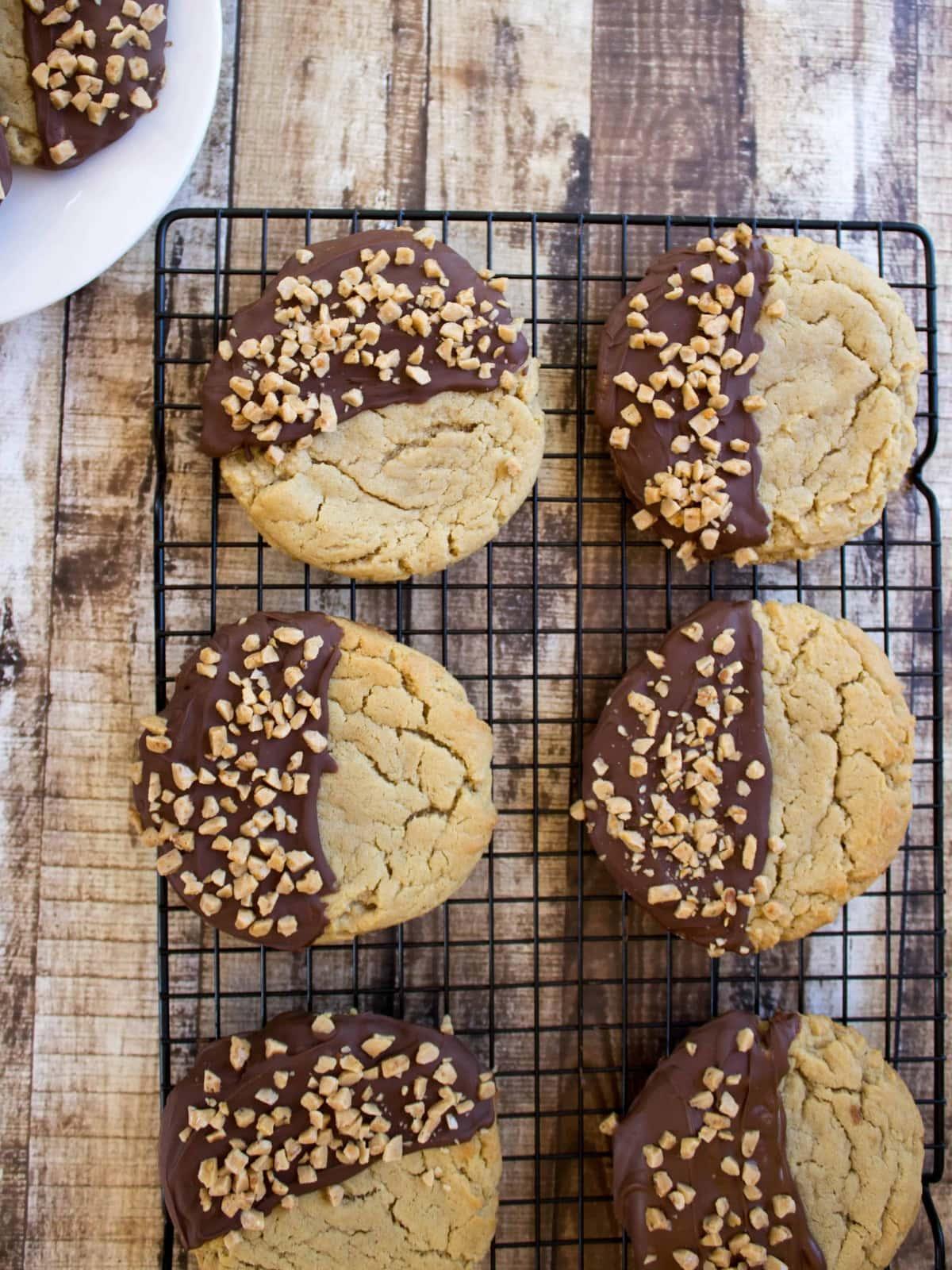 Best ever Peanut Butter Cookies-- Giant, soft peanut butter cookies ...