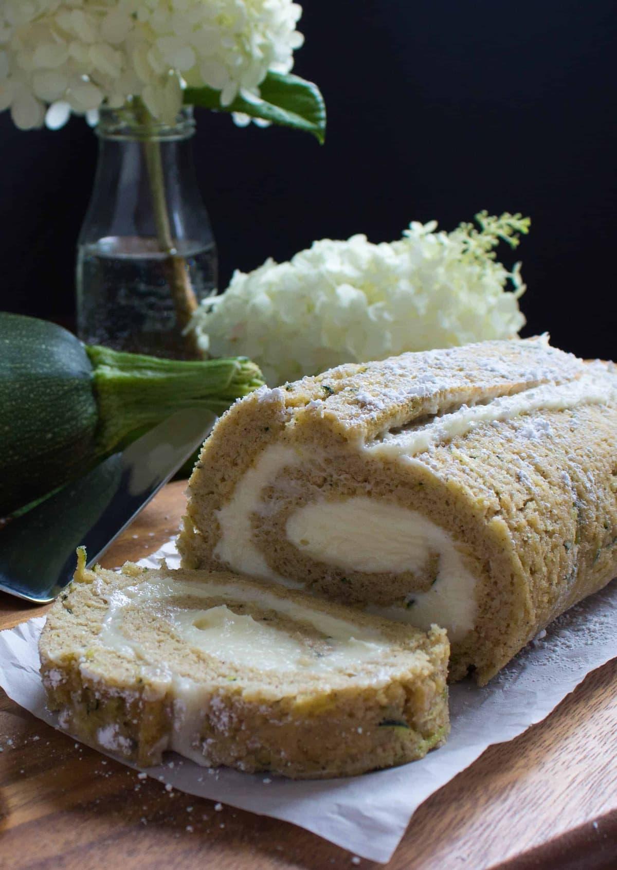Easy Zucchini Roll-3