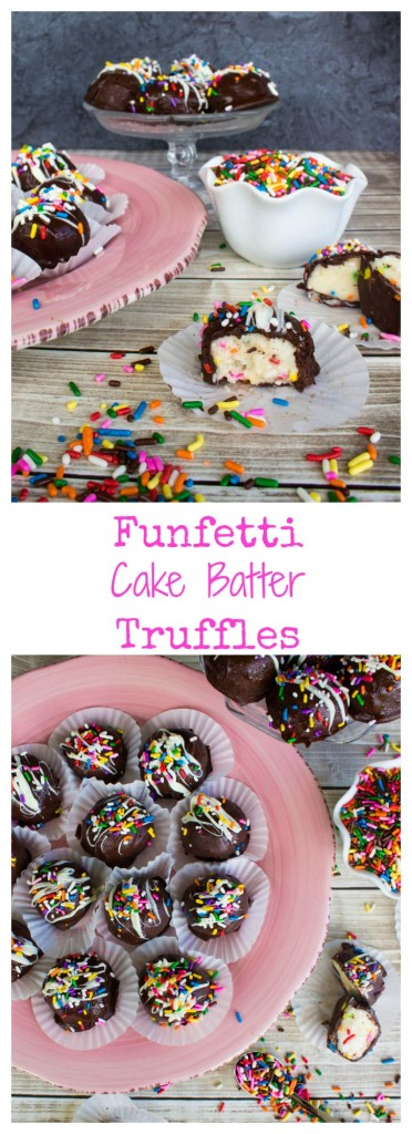 Funfetti Cake Batter Truffles!