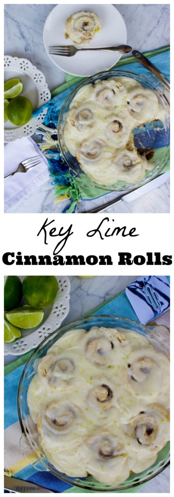 Key Lime Cinnamon Rolls