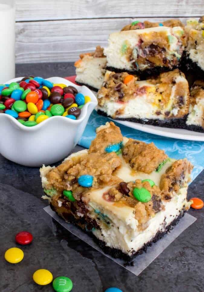 Monster Cheesecake Squares