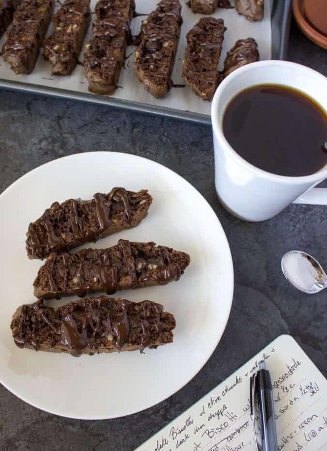 Chocolate & Walnut Biscotti