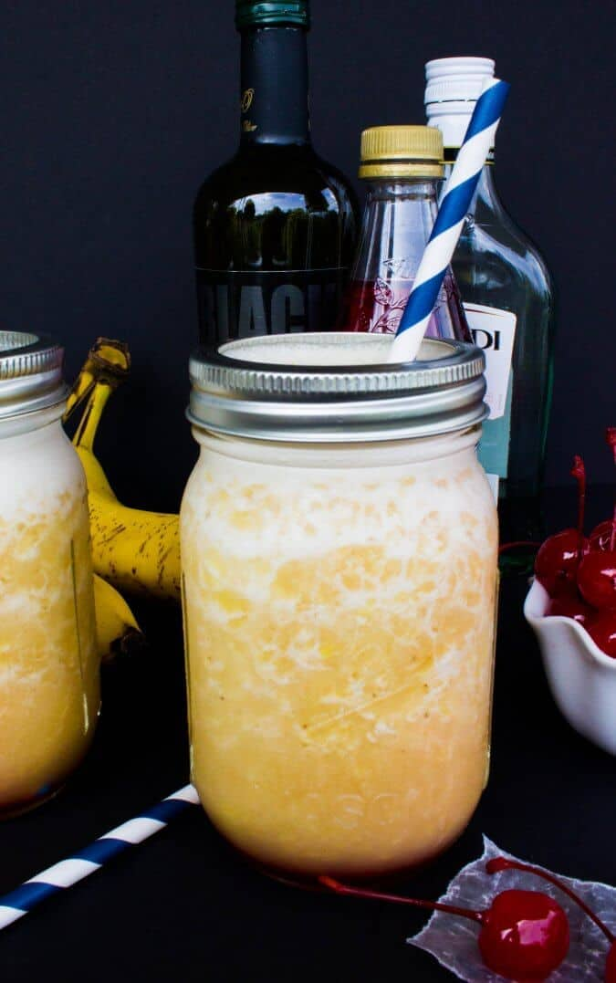 Frozen Banana Daiquiris