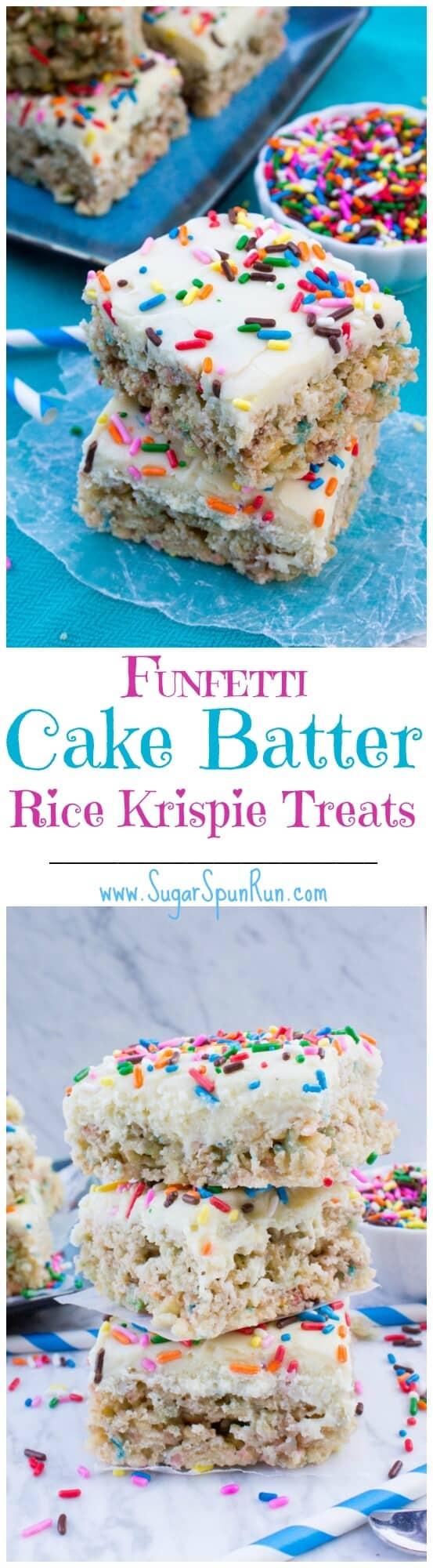 Funfetti Cake Batter Truffles