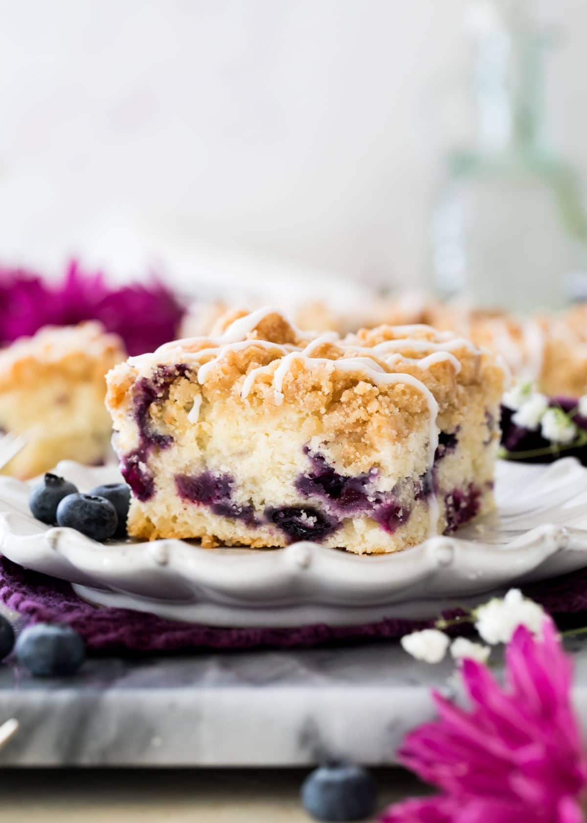 Blueberry Coffee Cake Sugar Spun Run