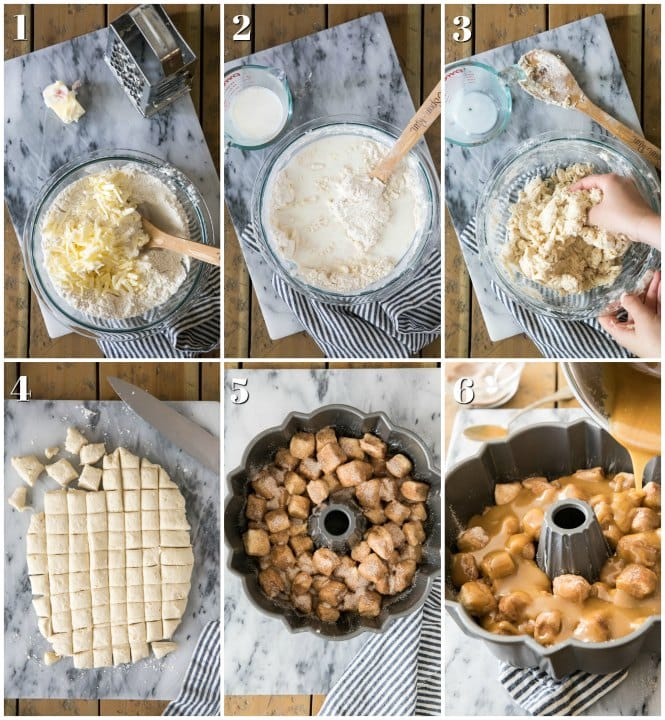 How to make monkey bread, step-by-step