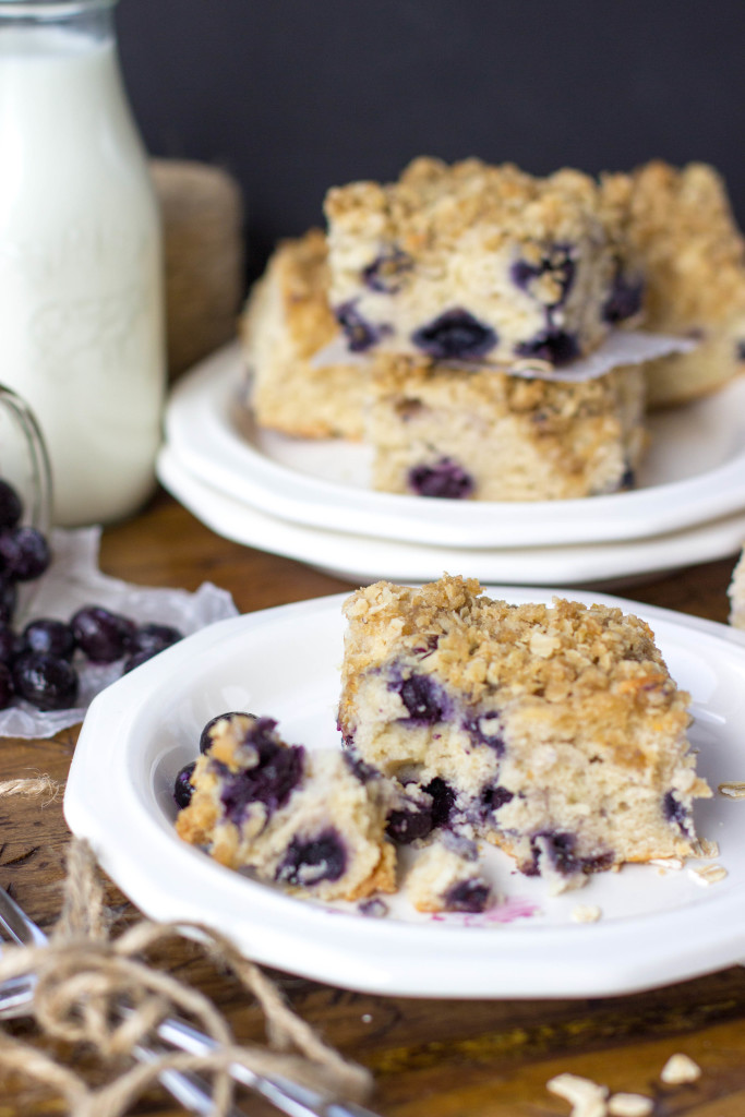Blueberry Breakfast Cake || SugarSpunRun