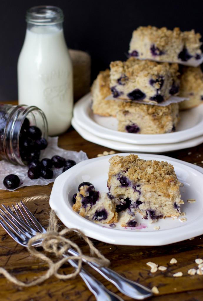 blueberry cake for breakfast-4