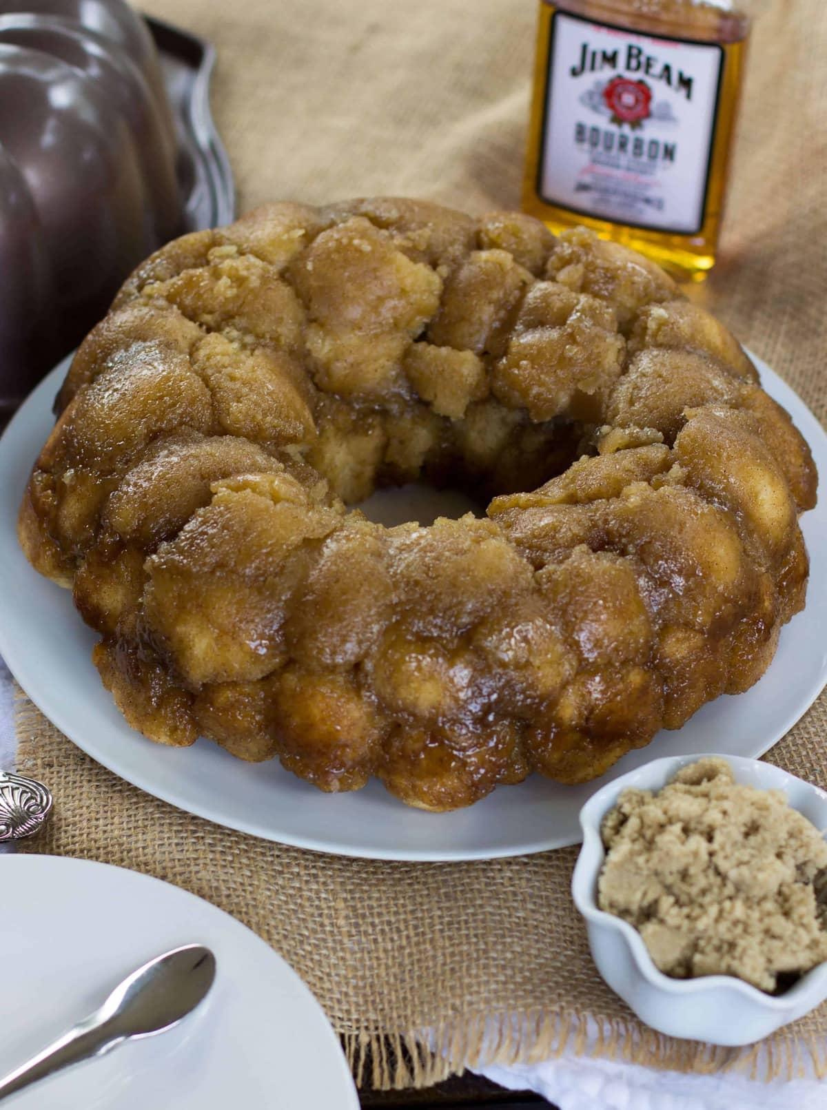 Drunken Monkey Bread {From Scratch, No Yeast} - Sugar Spun Run