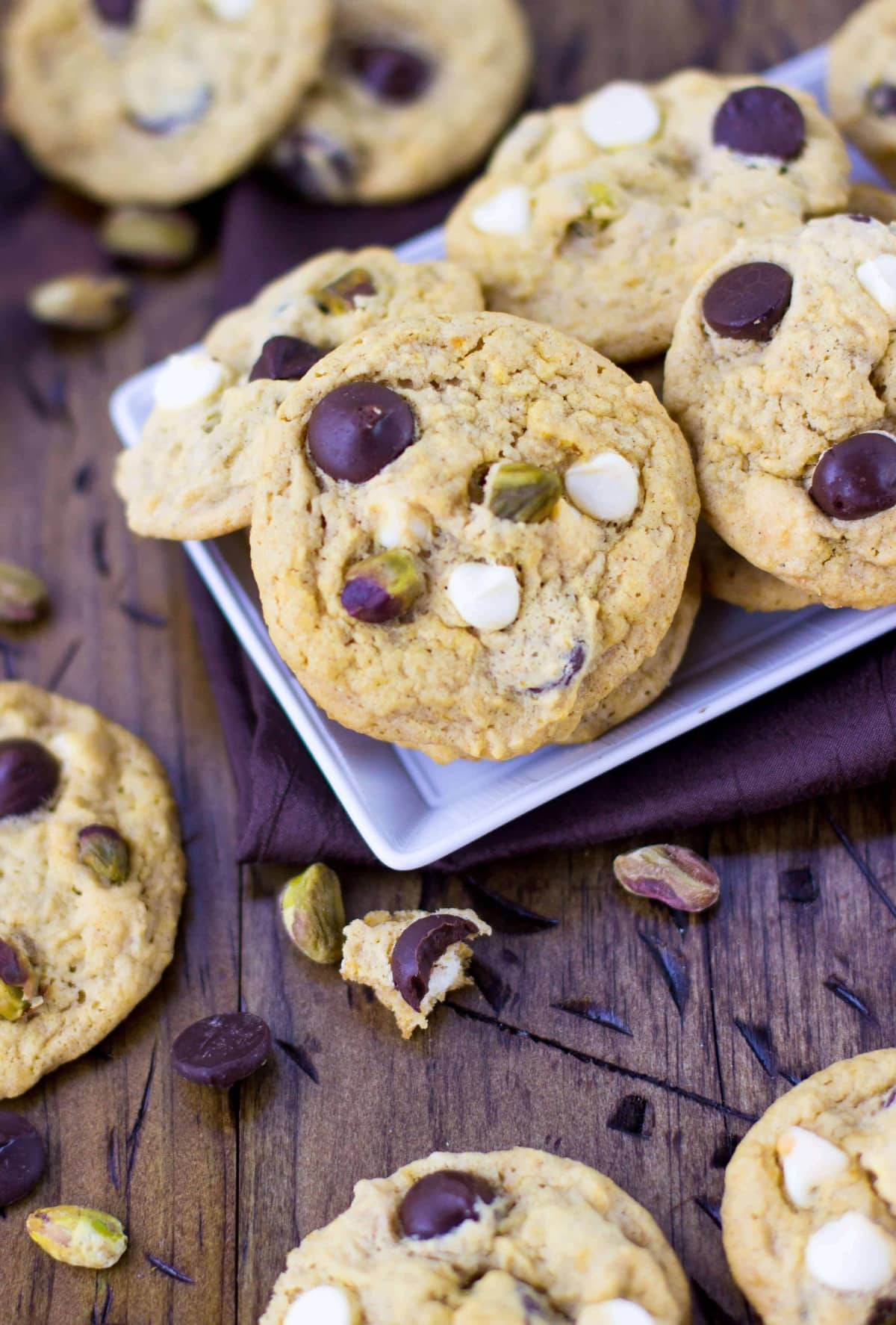 Chewy Pumpkin Cookies - Sugar Spun Run