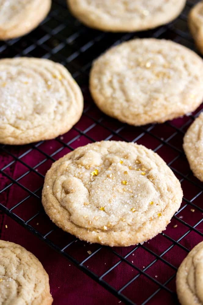 Maple Brown Sugar Cookies