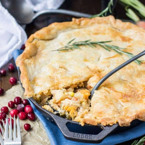 Turkey Potpies Recipe: Great For Leftover Turkey!