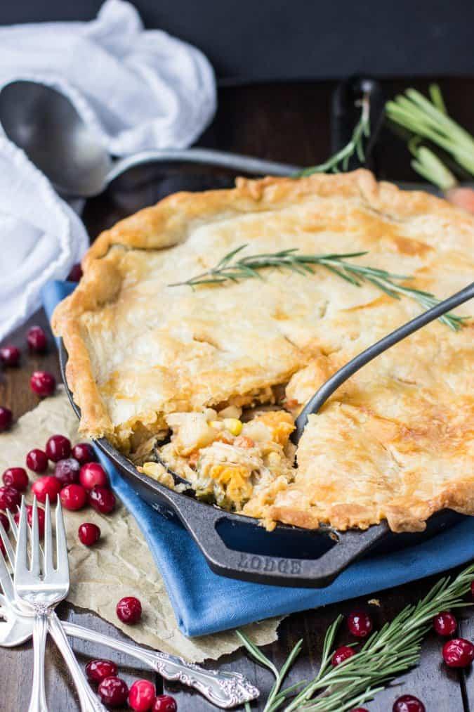 Turkey Pot Pie — Great for Leftover Turkey!
