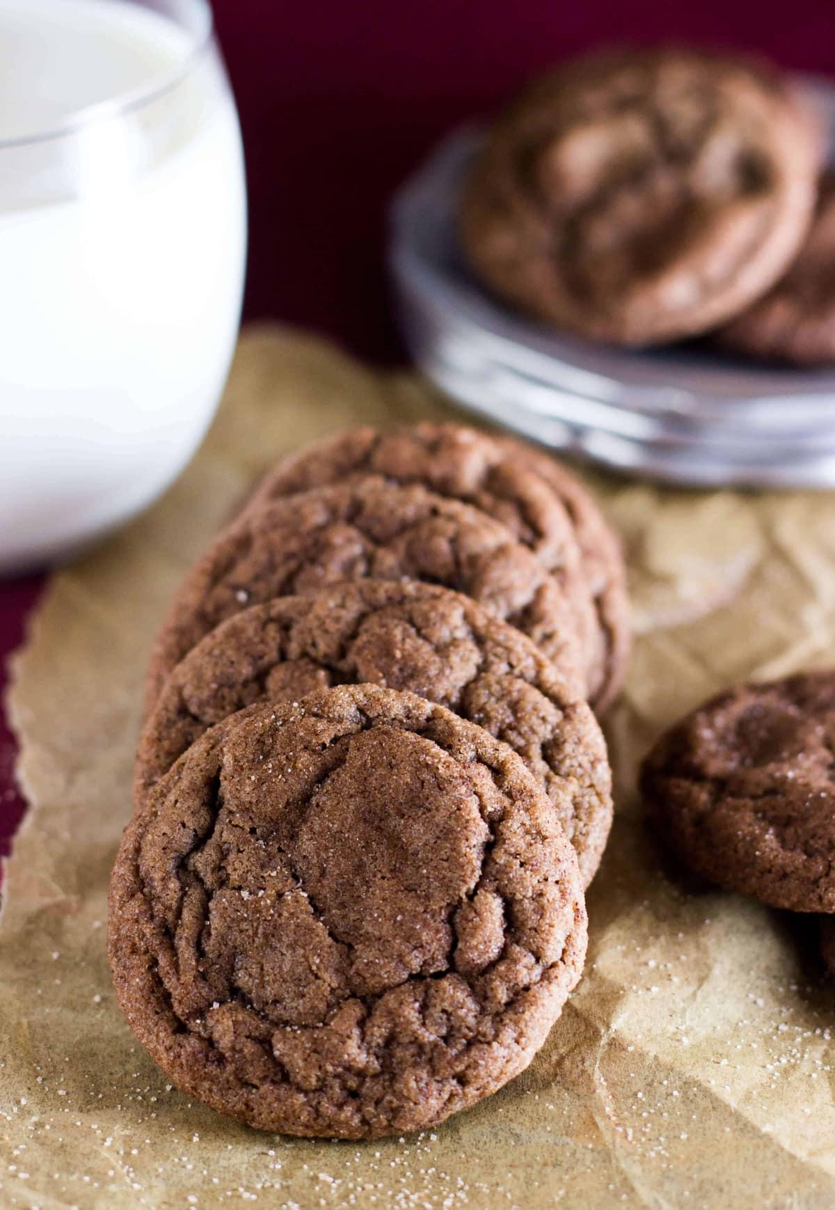 Recipe For Chocolate Snickerdoodles Cookies