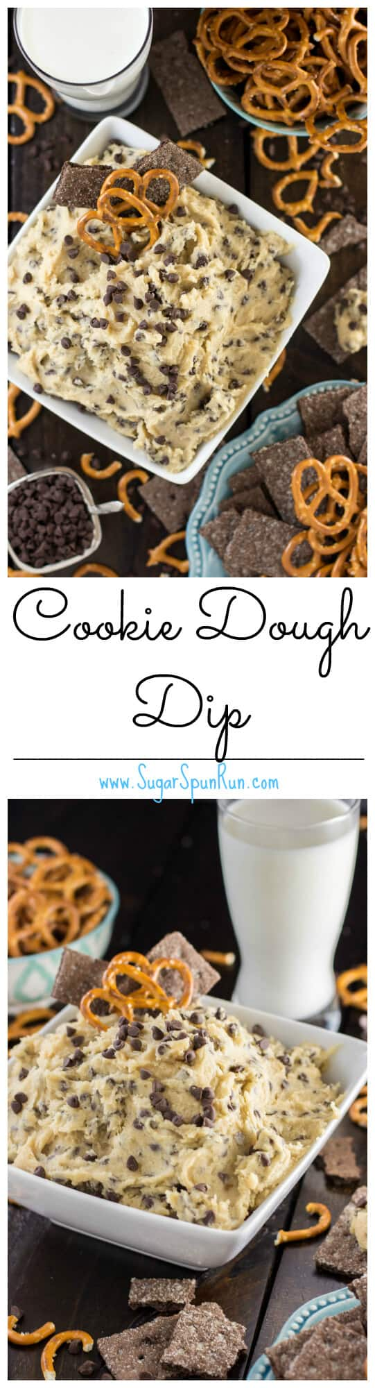 Cookie Dough Dip - Sugar Spun Run