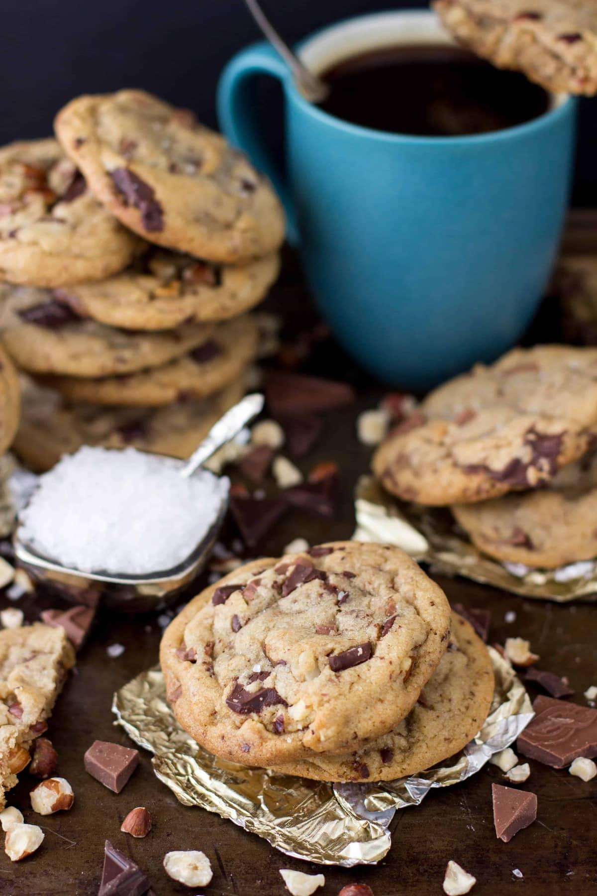 Browned Butter Amp Hazelnut Chocolate Chip Cookies Sugar Spun Run