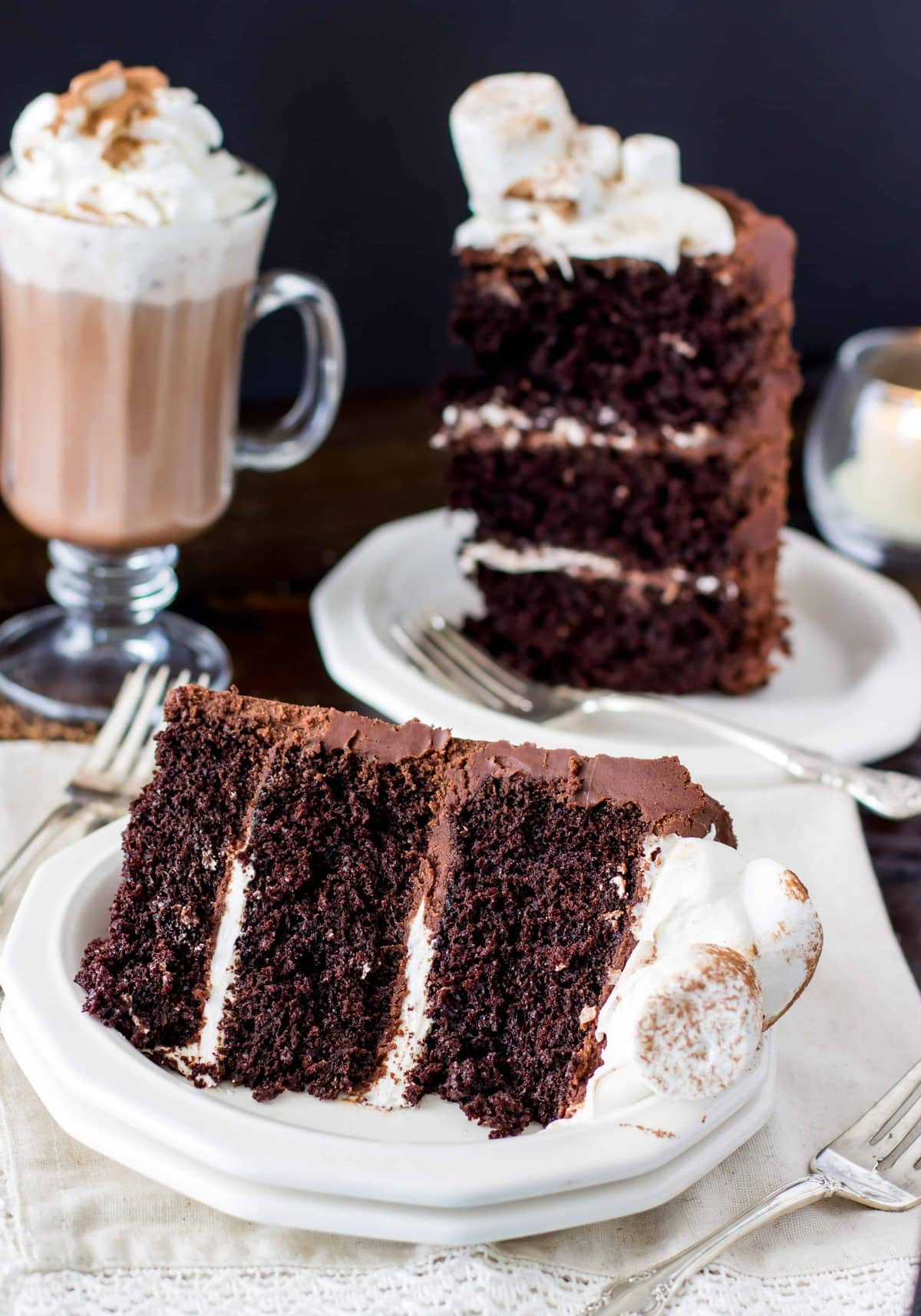 French Vanilla Hot Chocolate Hot Choc Cake Of