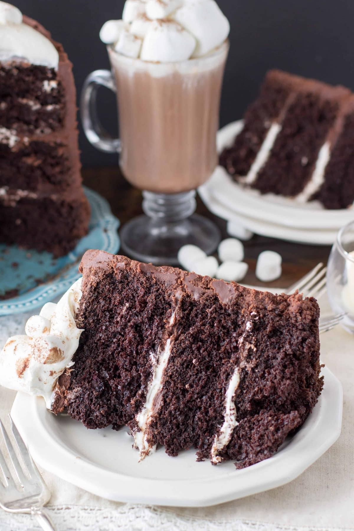 A Rich Chocolate Cake Recipe