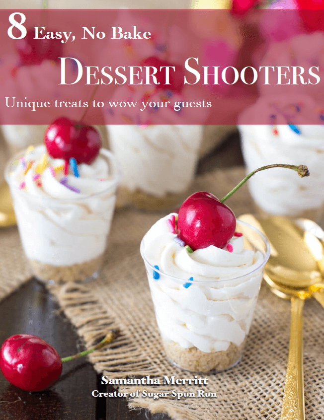 Eight easy no bake dessert shooters
