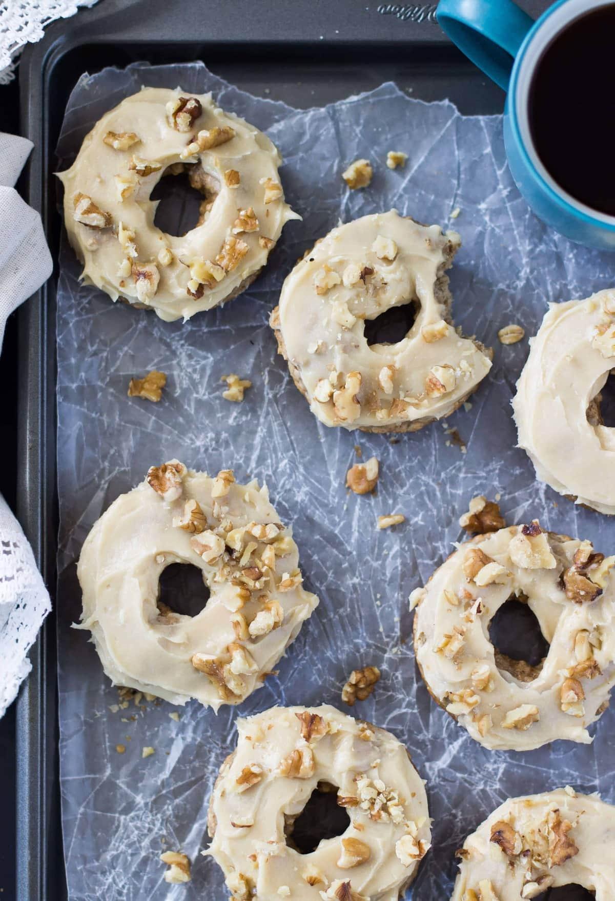 Whole Wheat Banana Bread Donuts - Sugar Spun Run