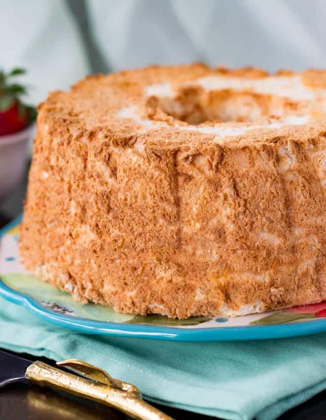 Angel food cake sugar spun run angel food cake recipe forumfinder Choice Image