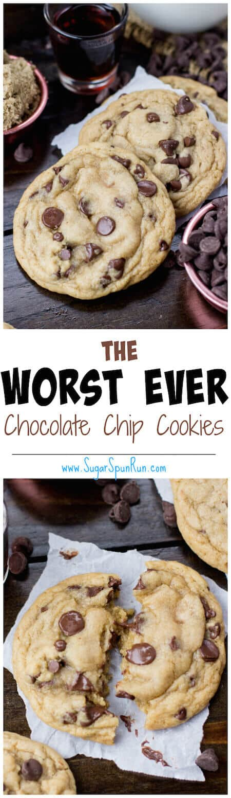 These chocolate chip cookies are the best I've ever had... omg!