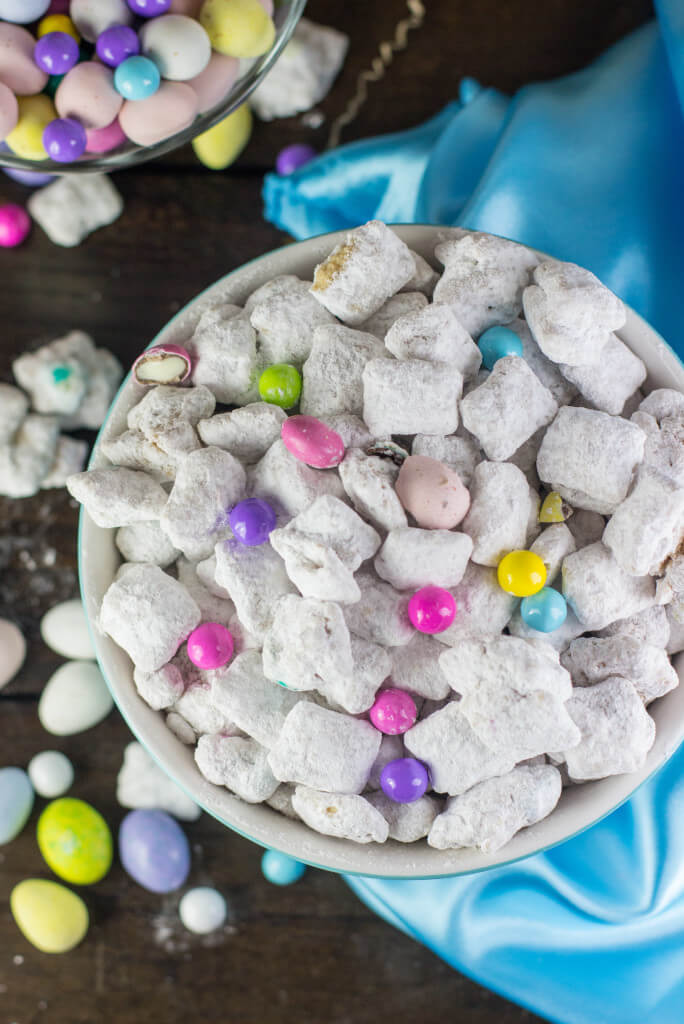 """Bunny Munch"" made with leftover Easter Candy"