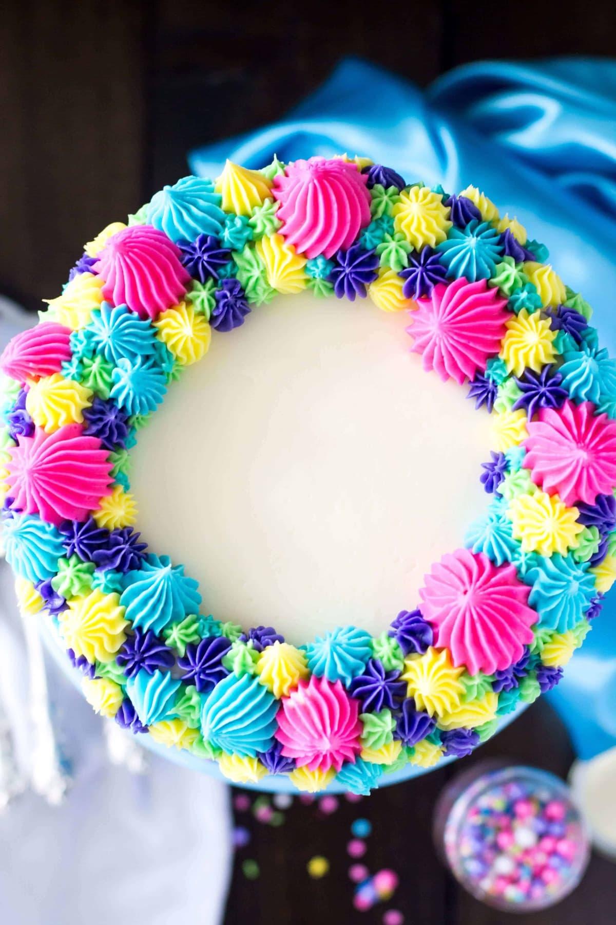 Funfetti Cake Decorating Ideas