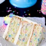 Funfetti Cake From Scratch And An Unbirthday