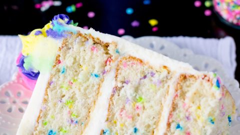 Funfetti Cake From Scratch A Very Merry Unbirthday Sugar Spun Run