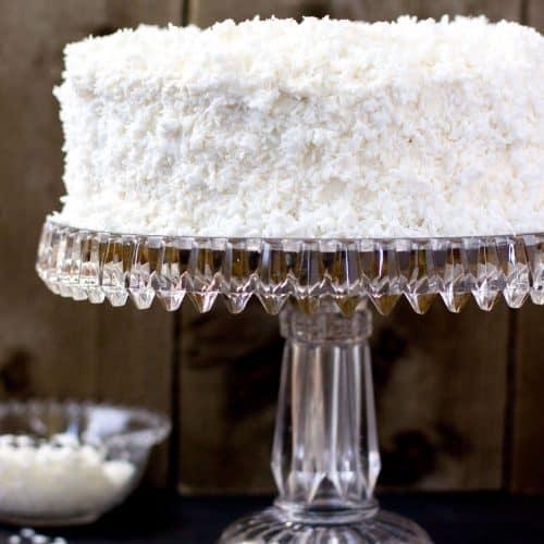 Old Fashioned Coconut Cake Sugar Spun Run