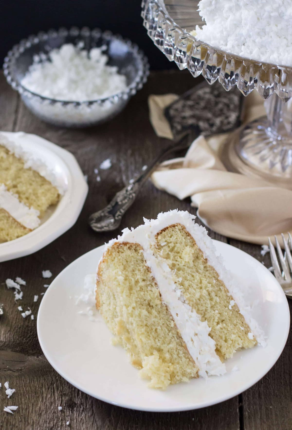 Recipe for old fashioned coconut cake