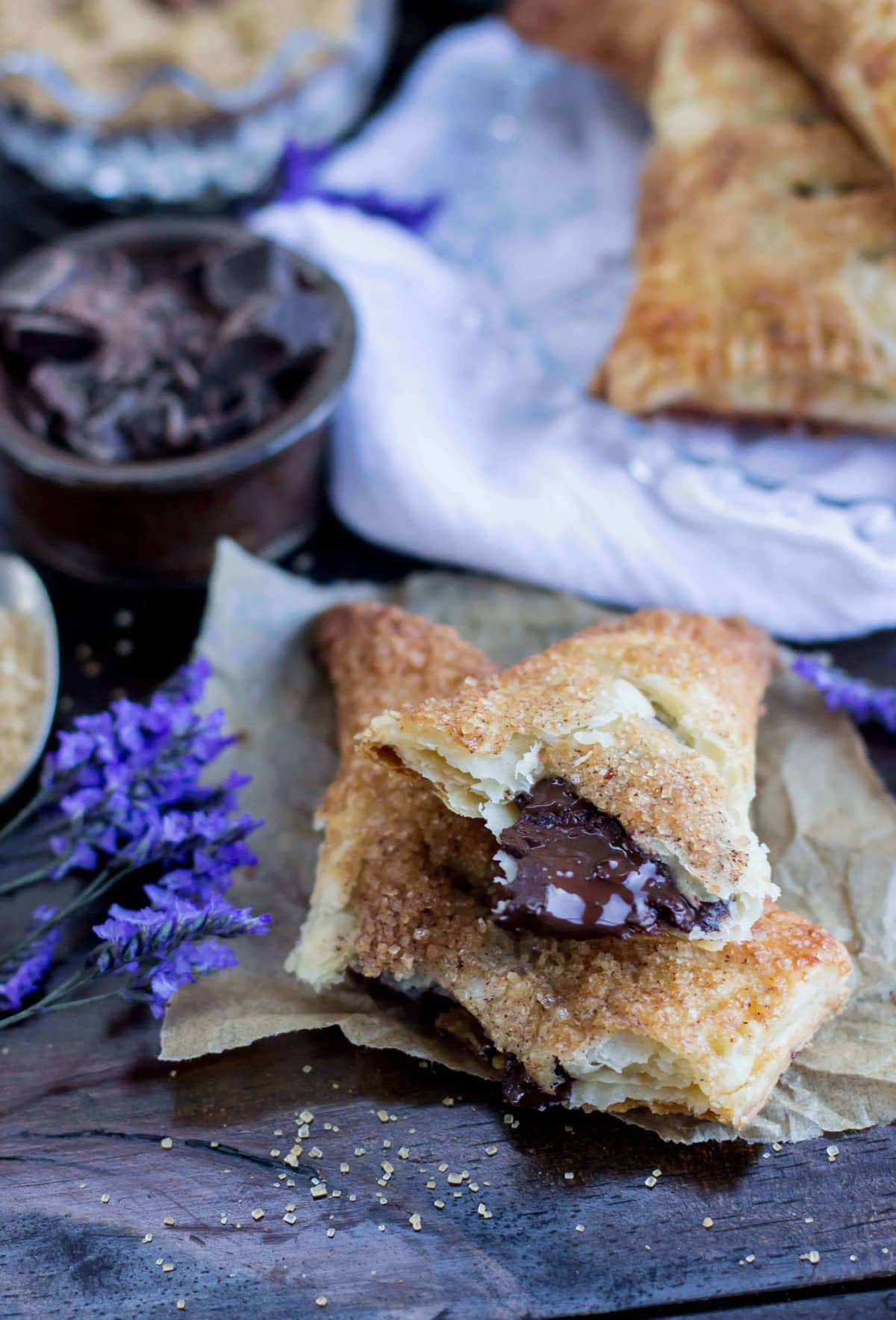 Chocolate Turnovers