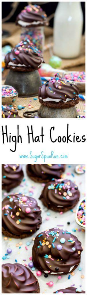 High Hat Cookies