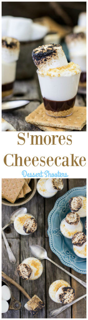 S\'mores Cheesecake Dessert Shooters