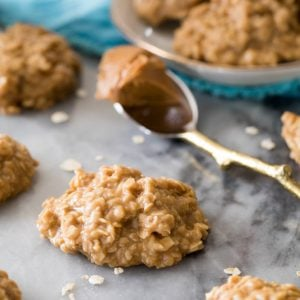 Cookie butter no bake cookies