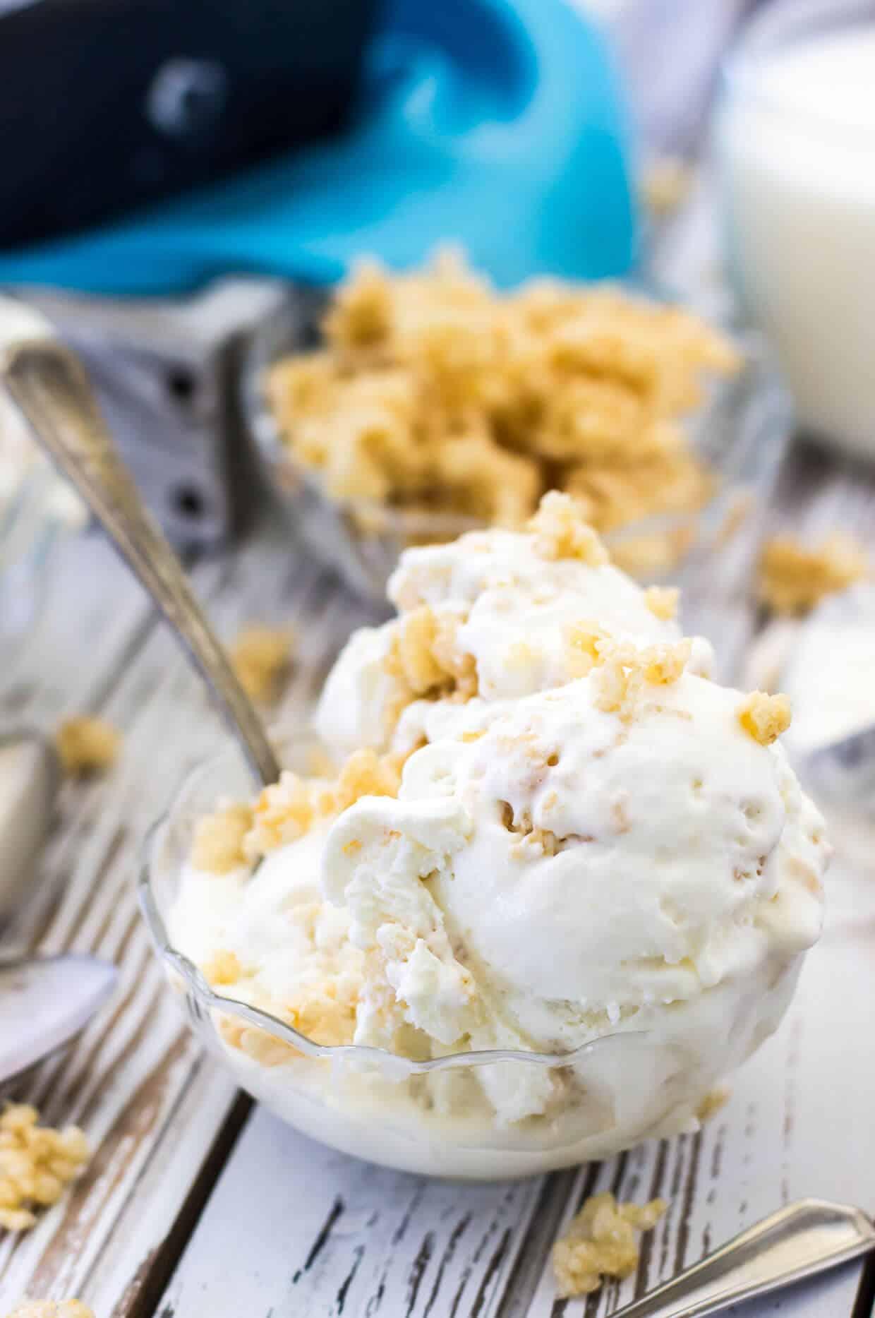 Rice Krispie Treat Ice Cream No Churn Sugar Spun Run
