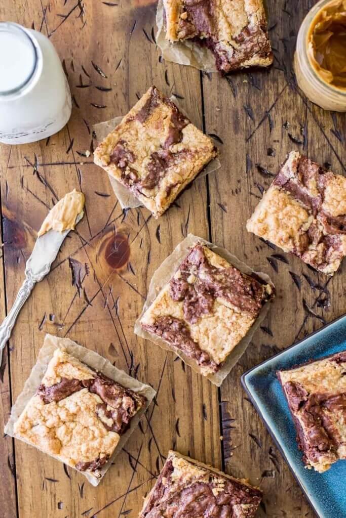 Peanut Butter Brownies -- Sugar Spun Run (1 of 1)-3