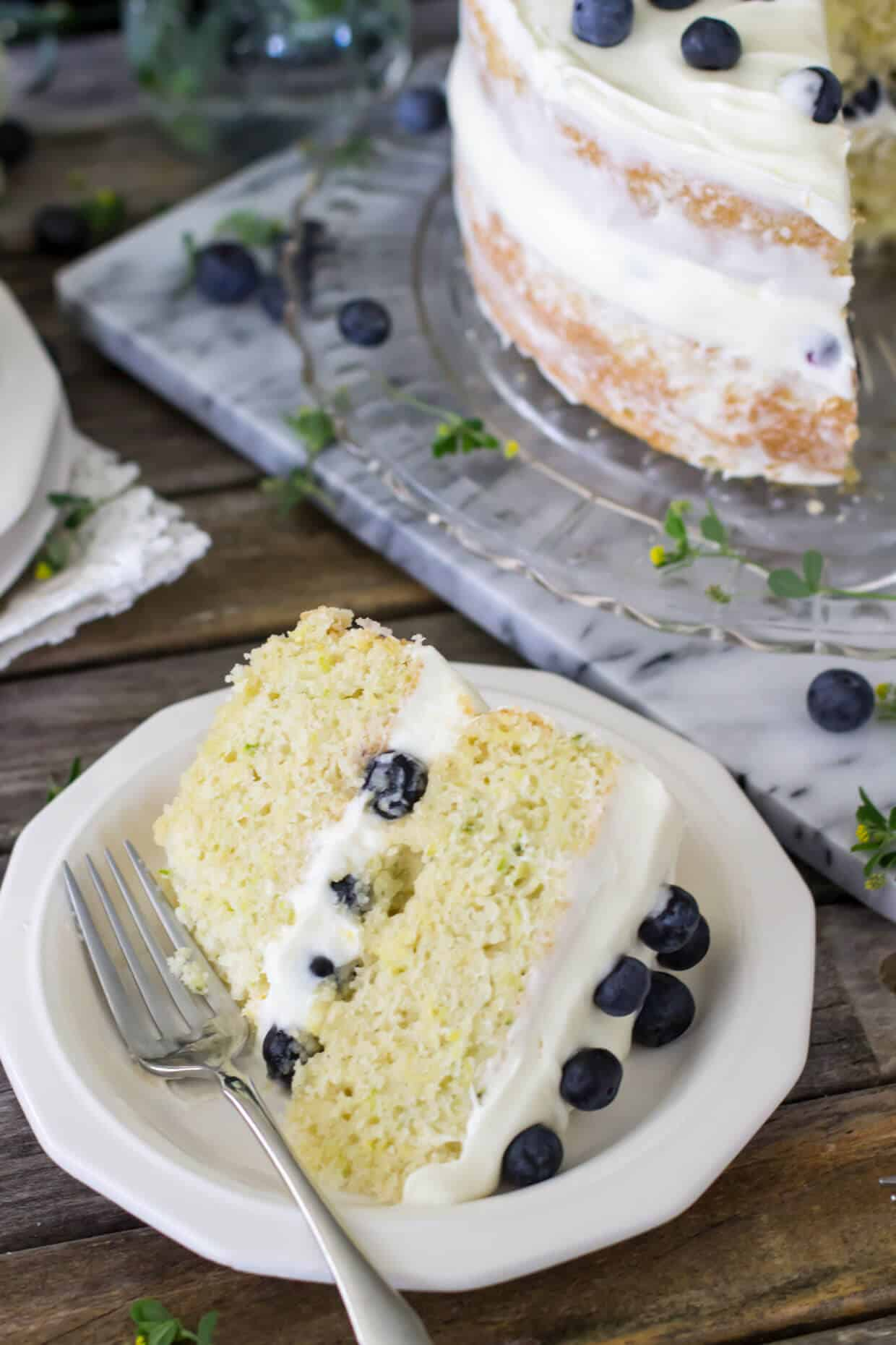 Lemon Zucchini Layer Cake