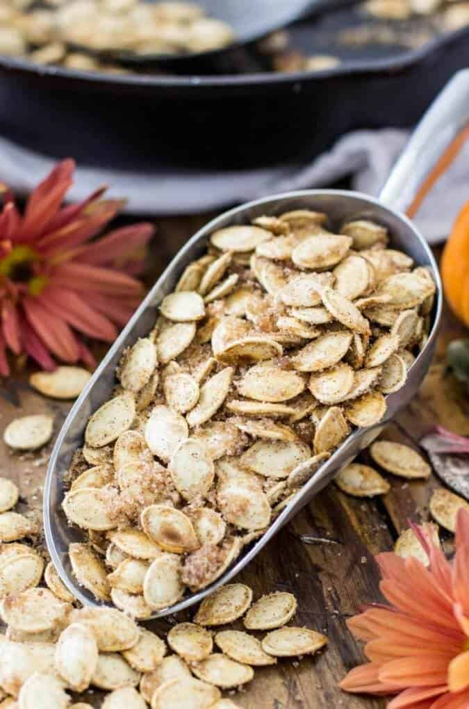 Sweet Pumpkin Seeds Recipe
