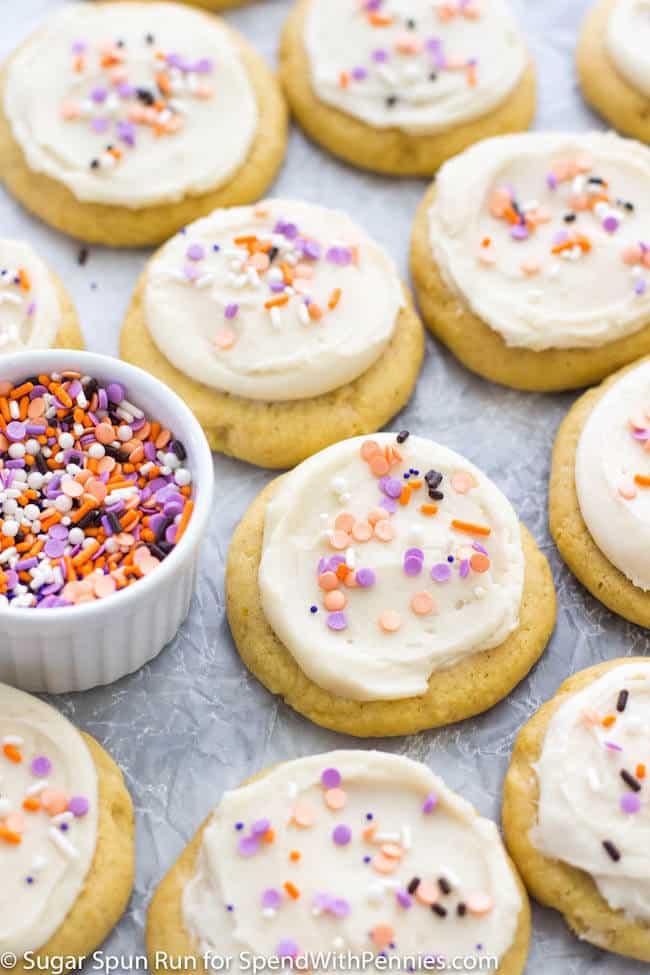 Lofthouse-Style Pumpkin Cookies