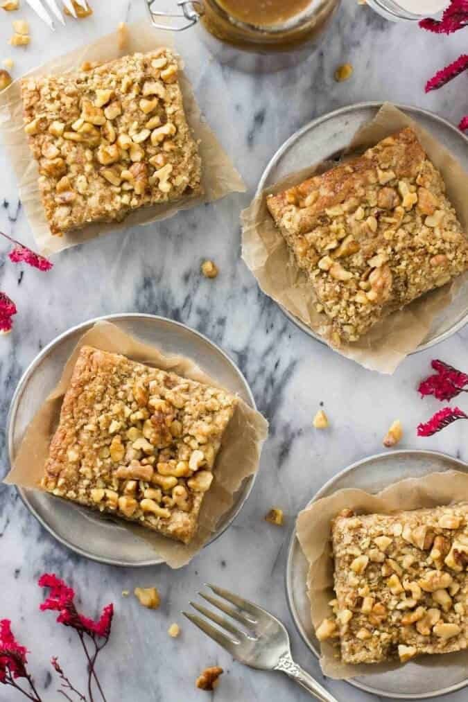 Brown Butter Blondies || SugarSpunRun