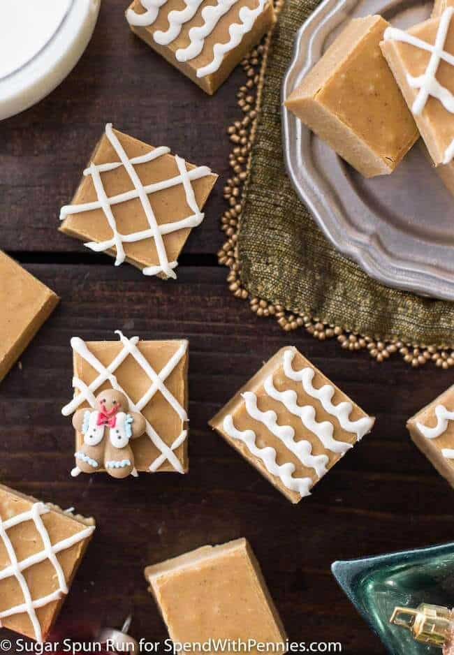 Gingerbread Spice Fudge || Sugar Spun Run