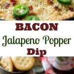 Bacon Jalapeno Popper Dip    Sugar Spun Run