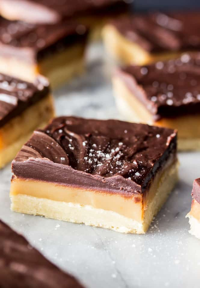 Millionaire's Shortbread, a rich and delicious dessert || Sugar Spun Run