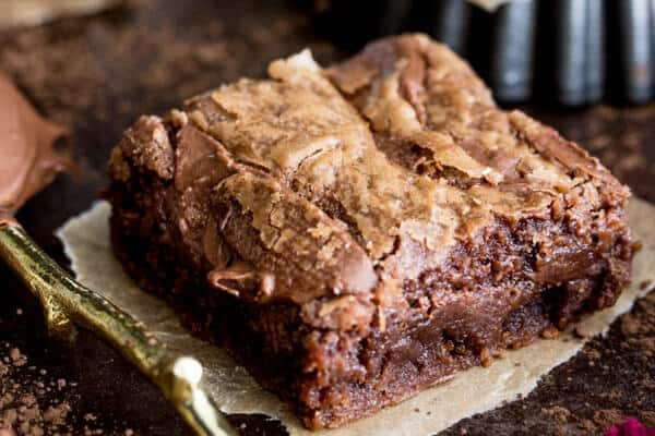 Chewy delicious Nutella Brownies
