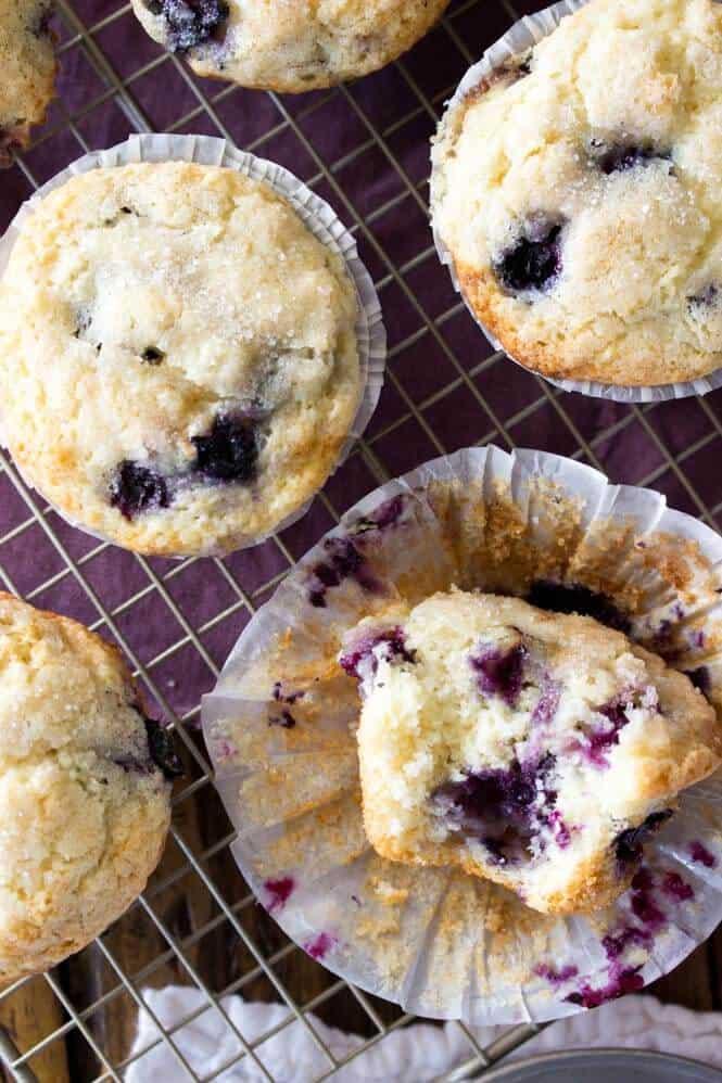 Blueberry Muffins || Sugar Spun Run